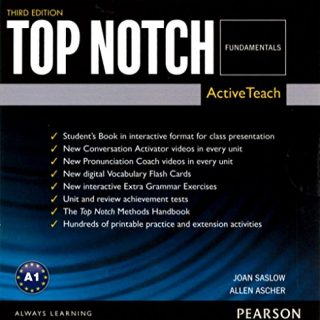 Top Notch Fundamentals Active Teach Third Edition