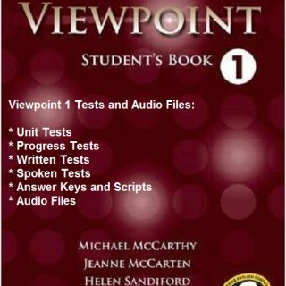 Viewpoint 1 Tests and Audio Files