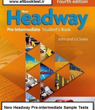 New Headway Pre-intermediate Sample Tests
