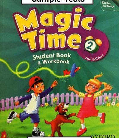 Magic Time 2 Sample Tests